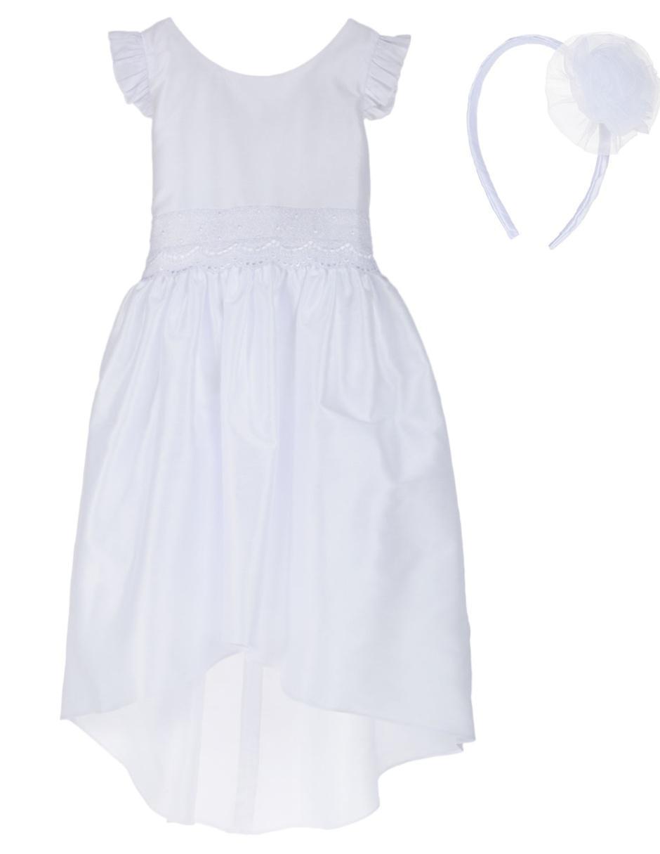 7b568a699 Vestido de Primera Comunión Diseños Mourinho para niña