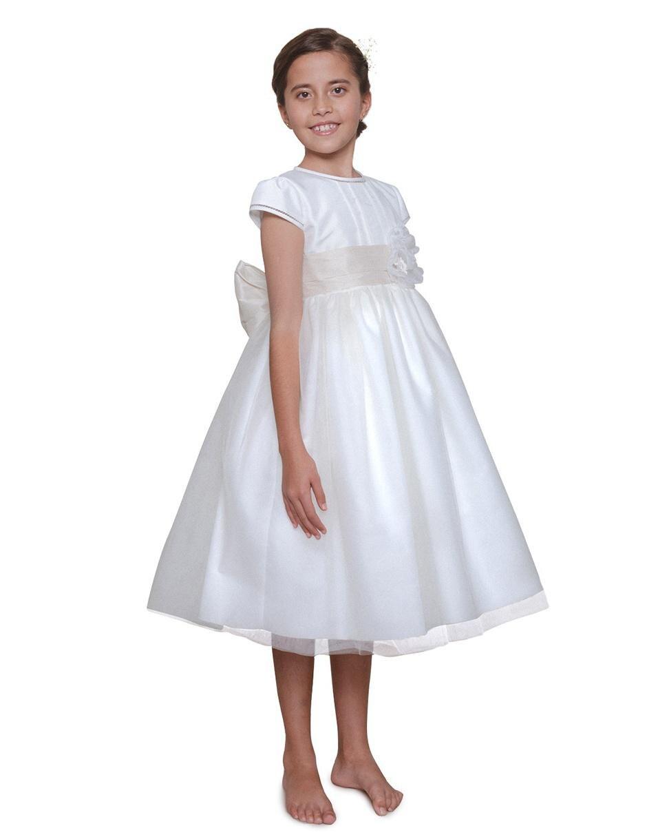 Vestido Para Presentación María Guajardo Para Niña